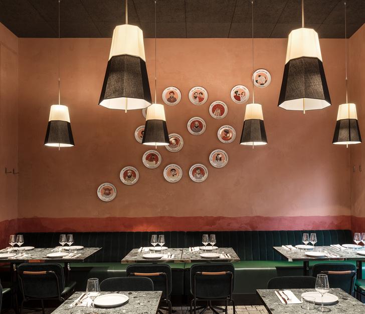 Новый дизанерский ресторан в Милане с домашней атмосферой (фото 0)