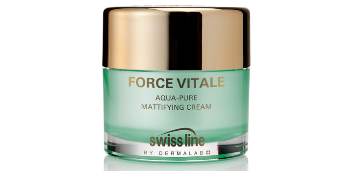 SWISSLINE Матирующий увлажняющий крем для смешанной и жирной кожи Force Vitale Aqua-Pure Mattifying Cream