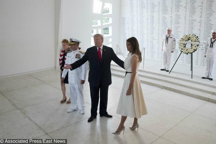 Два новых образа Мелании Трамп фото [1]