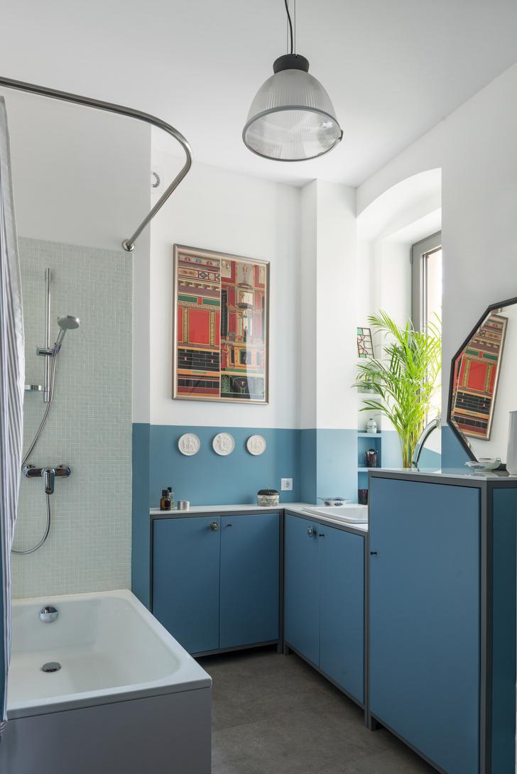 Квартира 80 м² в старомосковском стиле (фото 1)