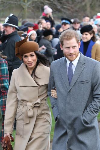 Меган Маркл и принц Гарри на рождественской службе (фото 6)