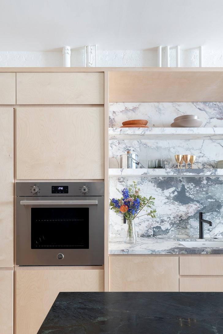 Модные кухни из фанеры: 10 удачных решений (фото 10)