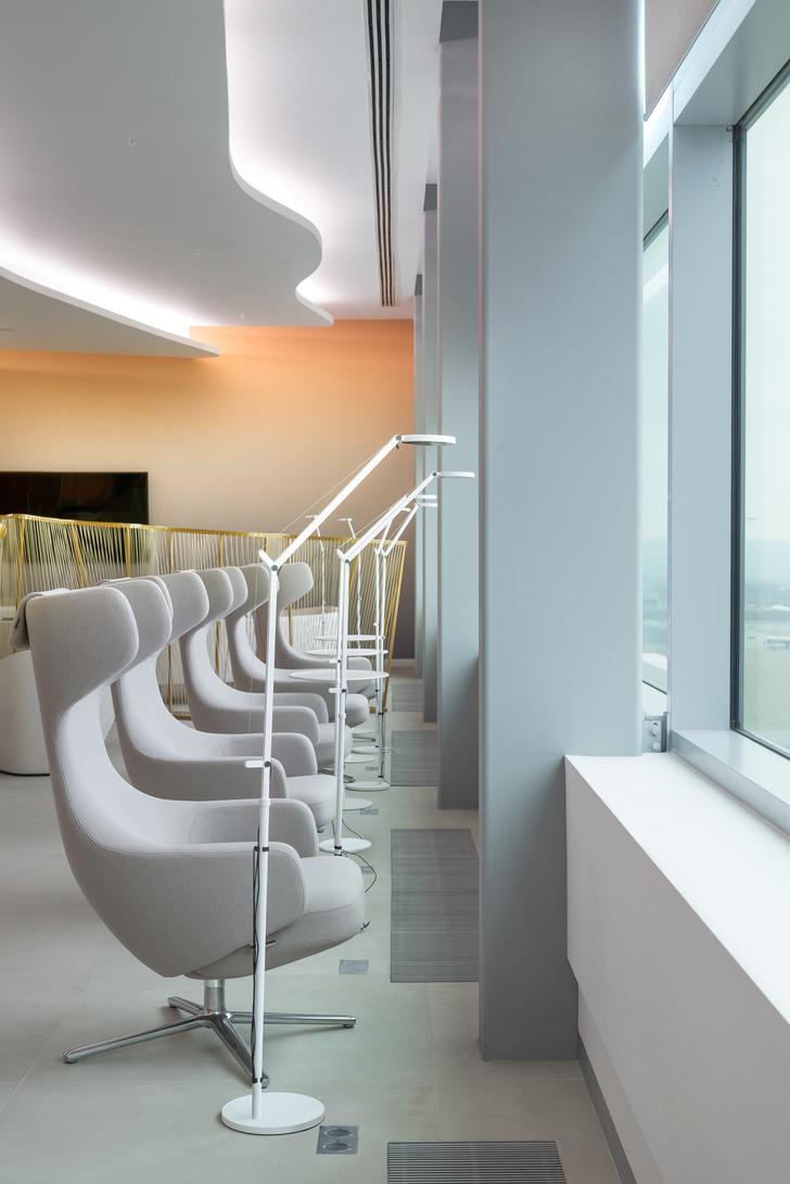 Бизнес-лаундж аэропорта «Платов» в Ростове-на-Дону: проект VOX Architects (фото 8)