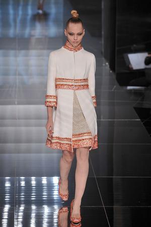 Показ Valentino коллекции сезона Весна-лето 2009 года haute couture - www.elle.ru - Подиум - фото 86982