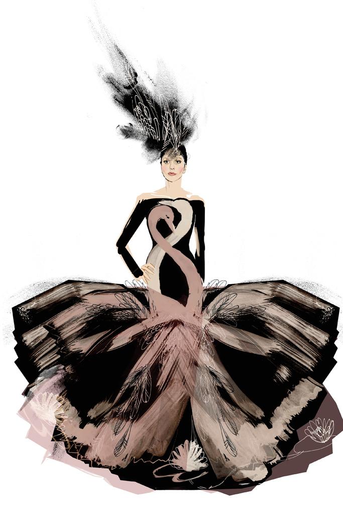 Свадебное платье Леди Гага от H&M