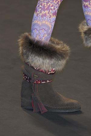 Показ Anna Sui коллекции сезона Осень-зима 2010-2011 года prêt-à-porter - www.elle.ru - Подиум - фото 146814