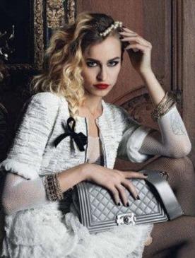 Элис Деллал в рекламе Chanel