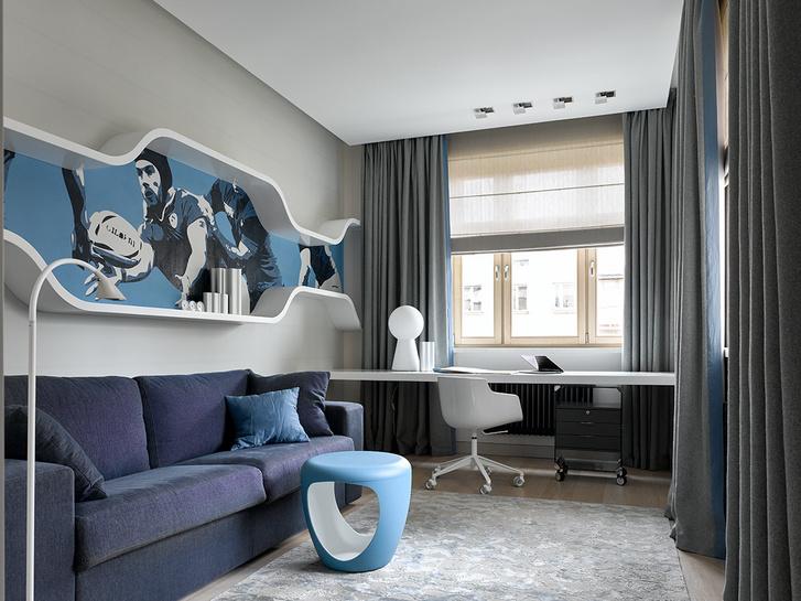 Квартира 200 м² на Мосфильмовской (фото 16)