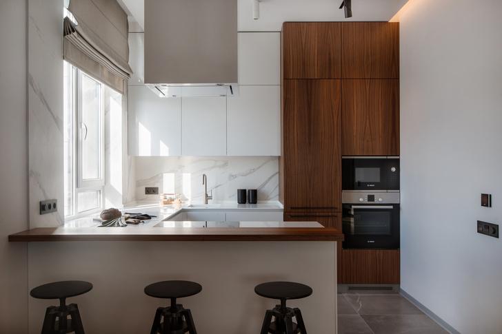Квартира 77 м² в стиле минимализм (фото 5)