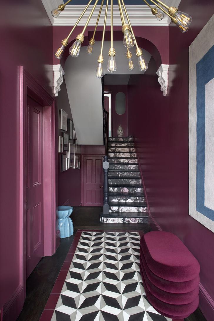 Color-blocking: интерьер дома в Дублине (фото 5)