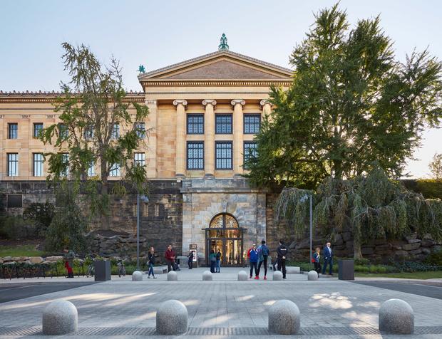 Реновация музея в Филадельфии: проект Фрэнка Гери (фото 10)