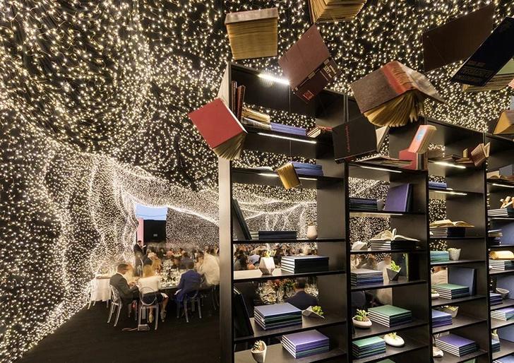 250 000 led-огней украшают ресторан Interstellar в Мехико (фото 8)