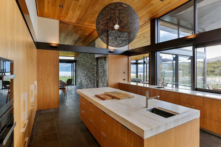 Одно целое: дом на берегу озера Вакатипу в Новой Зеландии (фото 5)