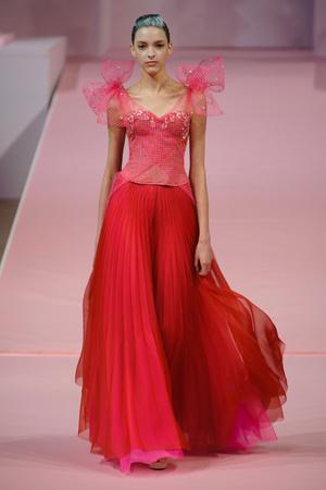 Показ Alexis Mabille коллекции сезона Весна-лето 2013 года Haute couture - www.elle.ru - Подиум - фото 477547