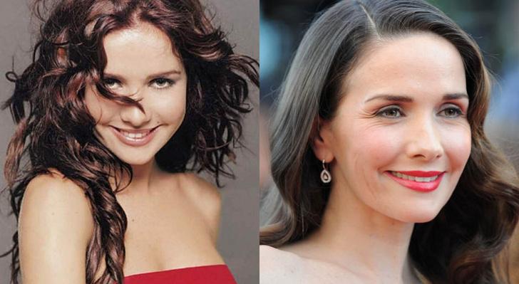 Наталья Орейро до и после
