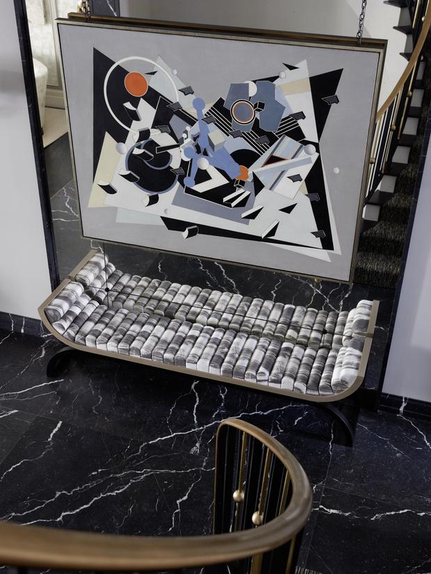 Дом на Манхэттене по дизайну Жан-Луи Деньо (фото 4)