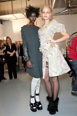 Показ Vivienne Westwood коллекции сезона Осень-зима 2012-2013 года Prêt-à-porter - www.elle.ru - Подиум - фото 380654