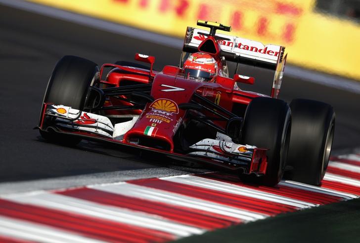 Тест-драйв Ferrari