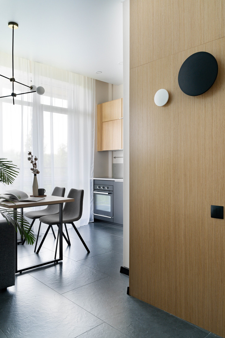 Квартира 38 м² для молодого заказчика: проект студии «1+1» (фото 16)