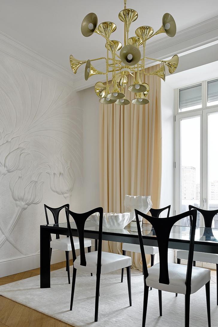 Белый цвет в интерьере: советы российских дизайнеров (фото 14)