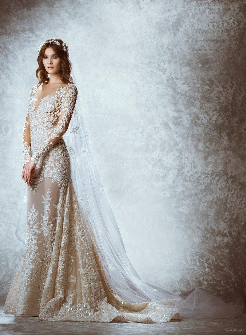 Платья невесты от Зухаир Мурад коллекции 2015