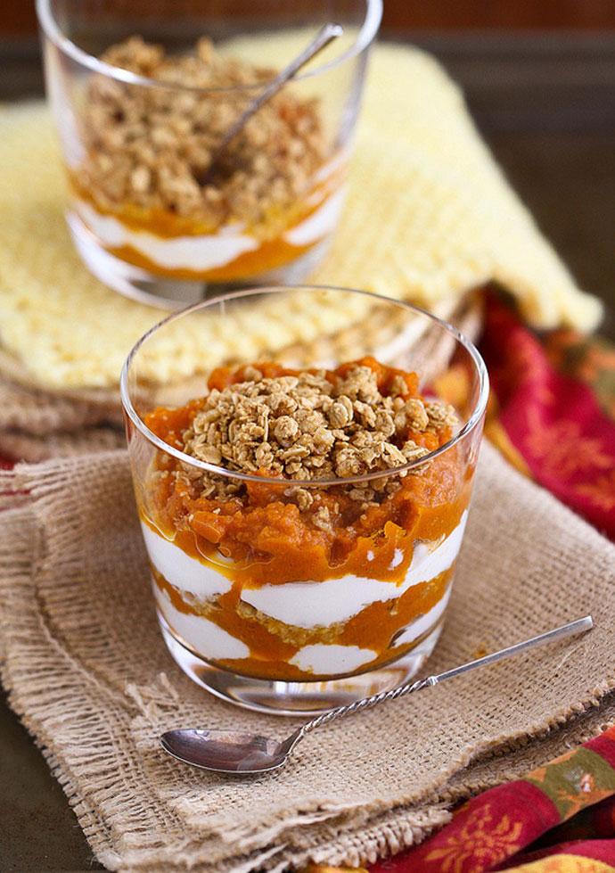 Тыквенный йогурт (80 калорий)