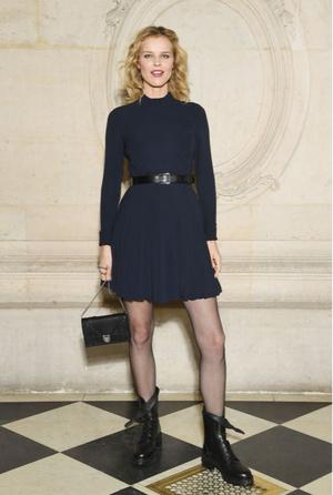 Гости на показе Dior Haute Couture в Музее Родена (фото 11)