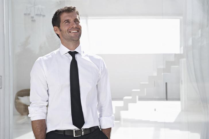 Какой длины должен быть галстук у мужчины фото