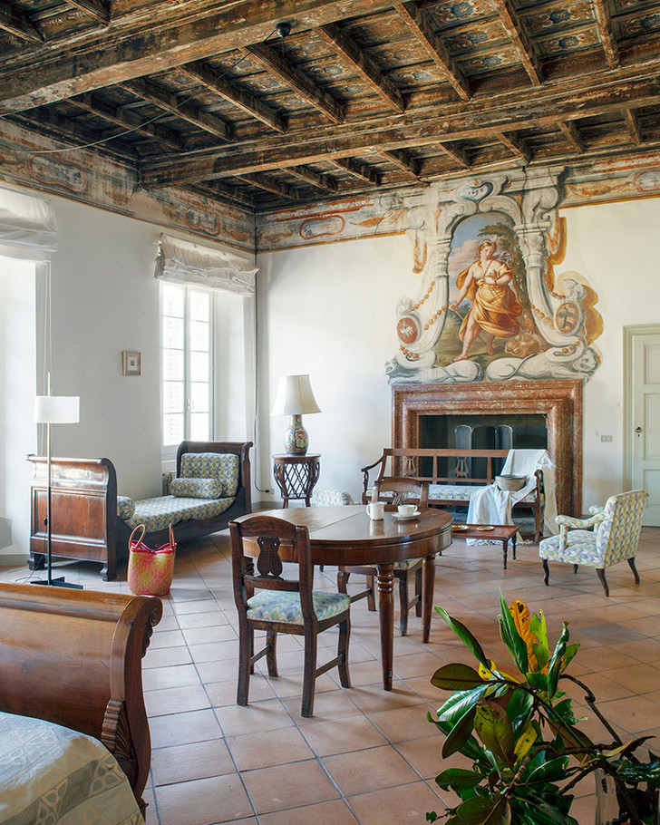 Виллу XVI  века в Ломбардии можно арендовать на Airbnb (фото 8)