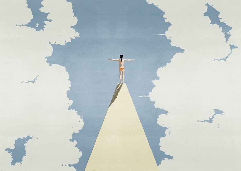 Небесная канцелярия: обои с рисунком неба (галерея 1, фото 1)