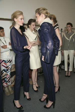 Показ Bouchra Jarrar коллекции сезона Весна-лето 2013 года Haute couture - www.elle.ru - Подиум - фото 479719
