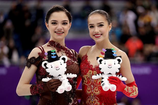Российские фигуристки одержали победу на Олимпиаде в Пхенчхане (фото 5)