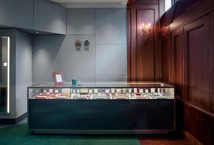 Антикварный салон Wartski в Лондоне (фото 4)