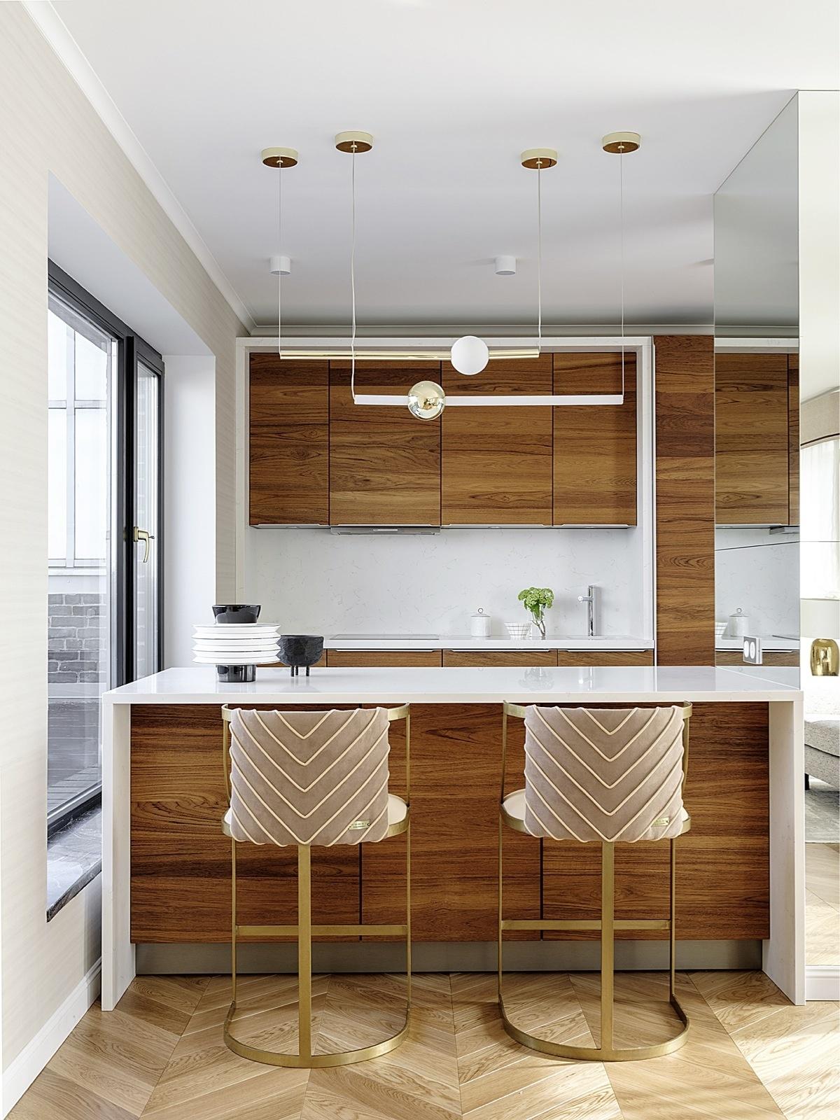 Кухня с деревянными фасадами: 25+ проектов (галерея 1, фото 0)