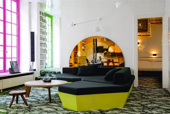 Эклектичная квартира по проекту Матиаса Кисса (фото 2)
