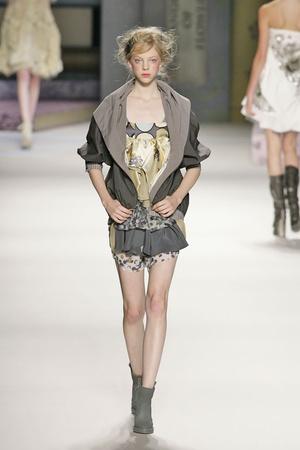 Показы мод Kenzo Весна-лето 2009 | Подиум на ELLE - Подиум - фото 3302