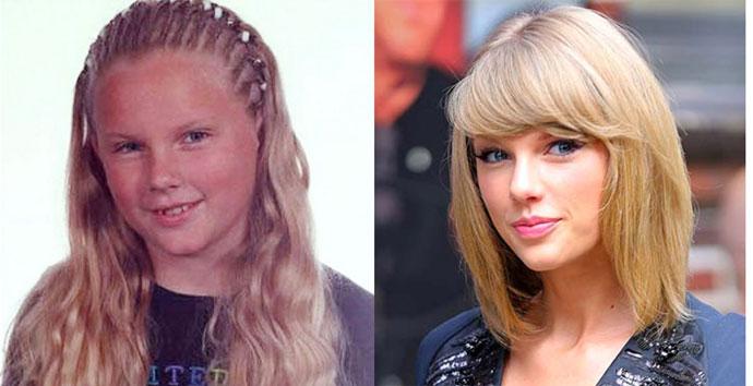 Тейлор Свифт звезды голливуда в детстве фото