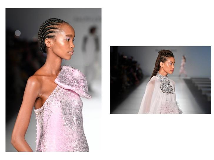 Банты и начесы: ретро укладки Ralph & Russo Couture Spring 2020 (фото 4)