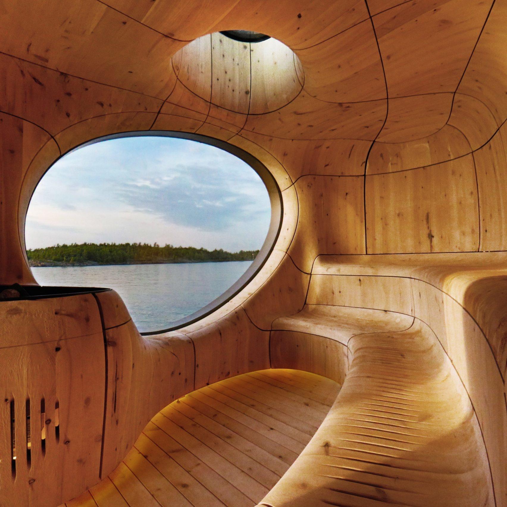 Дизайнерские бани и сауны: 15 проектов (галерея 1, фото 3)