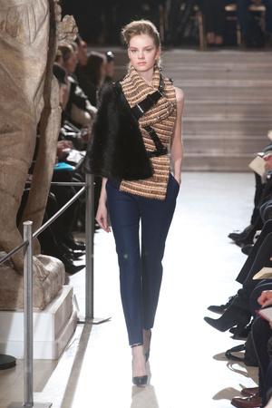 Показ Bouchra Jarrar коллекции сезона Весна-лето 2013 года Haute couture - www.elle.ru - Подиум - фото 479536