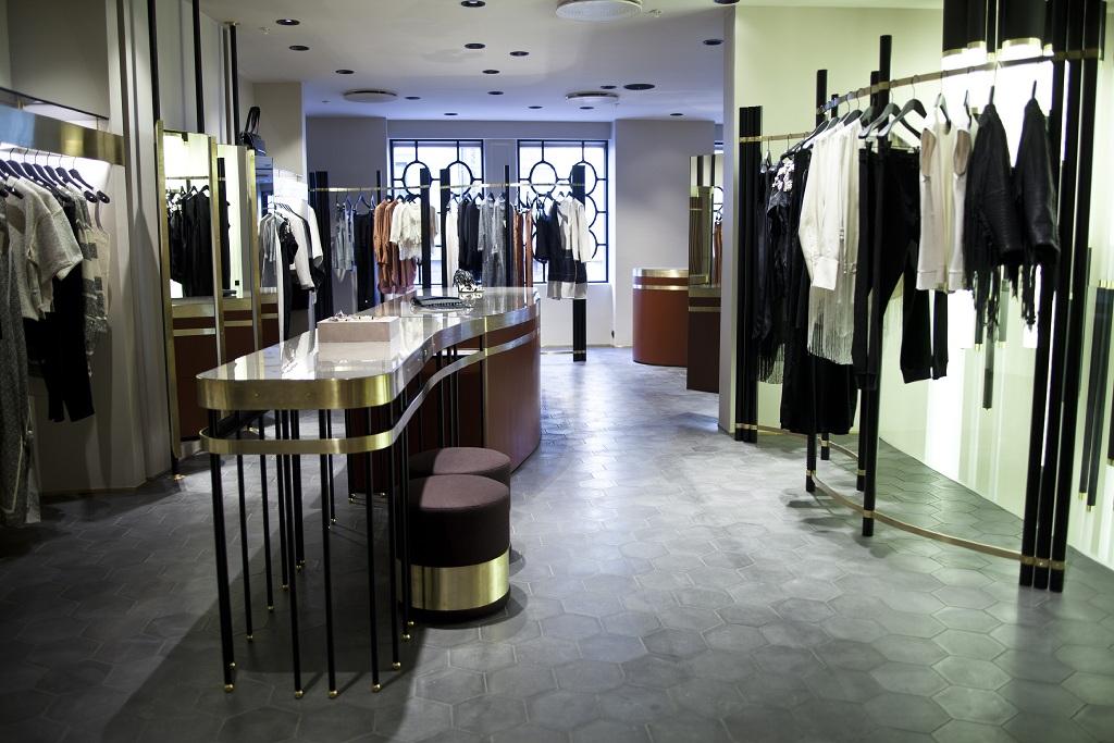 Дизайнеры Dimore Studio оформили бутик By Malene Birger | галерея [1] фото [4]