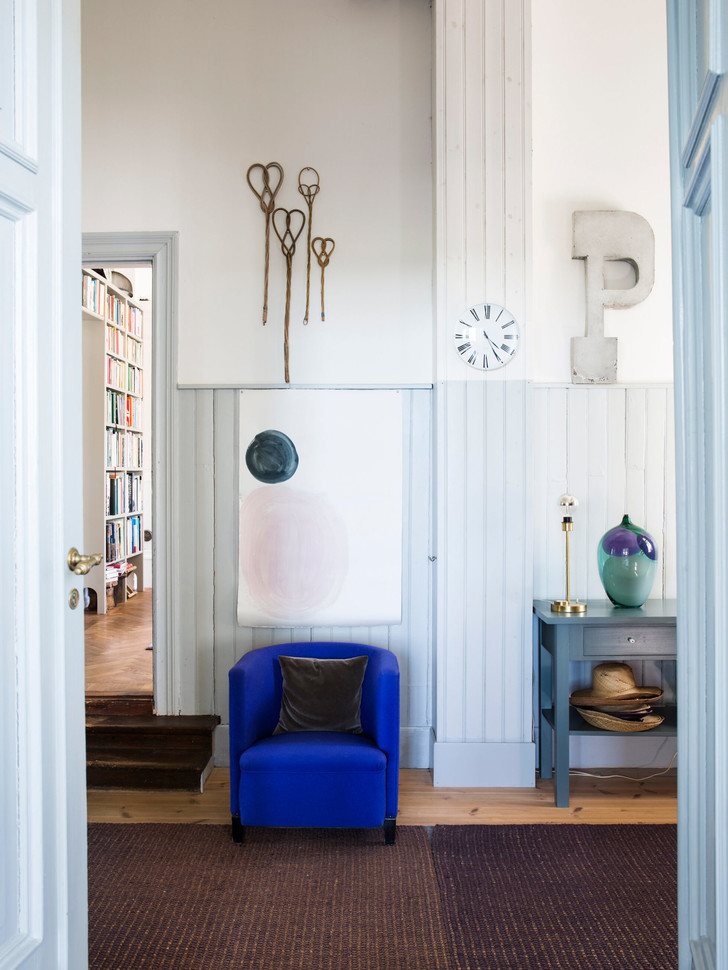 Голубая мечта: дом шведской художницы Гуннель Салин (фото 22)