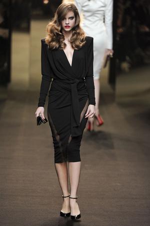 Показ Alexander Vauthier коллекции сезона Весна-лето 2011 года Haute couture - www.elle.ru - Подиум - фото 214944