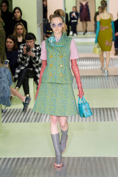 Показ Prada на Неделе моды в Милане | галерея [1] фото [24]