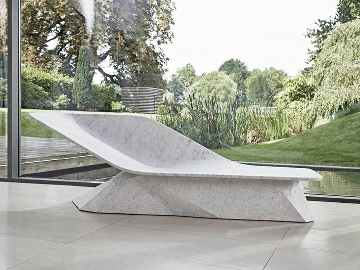 Скульптурный шезлонг Хади Тегерани для Draenert (фото 1)