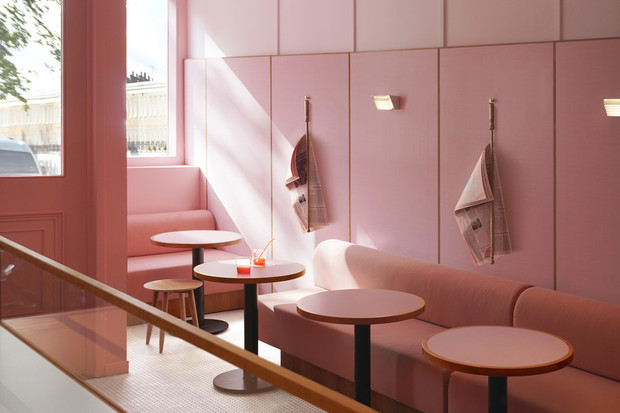 Розовая закусочная в Лондоне (фото 5)