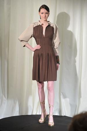 Показ Dominique Sirop коллекции сезона Весна-лето 2009 года Haute couture - www.elle.ru - Подиум - фото 86497