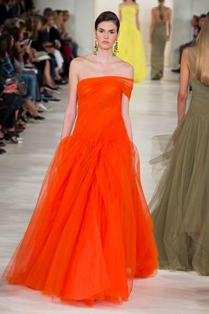 Показ Ralph Lauren коллекции сезона Весна-лето 2015 года prêt-à-porter - www.elle.ru - Подиум - фото 587157