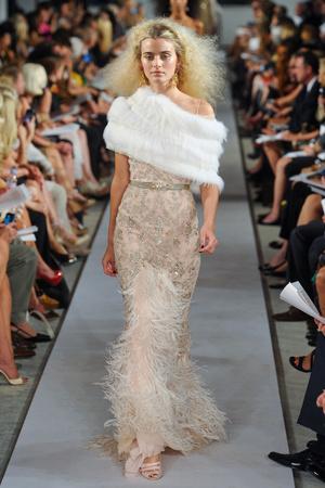 Показы мод Oscar de la Renta Весна-лето 2012 | Подиум на ELLE - Подиум - фото 2013