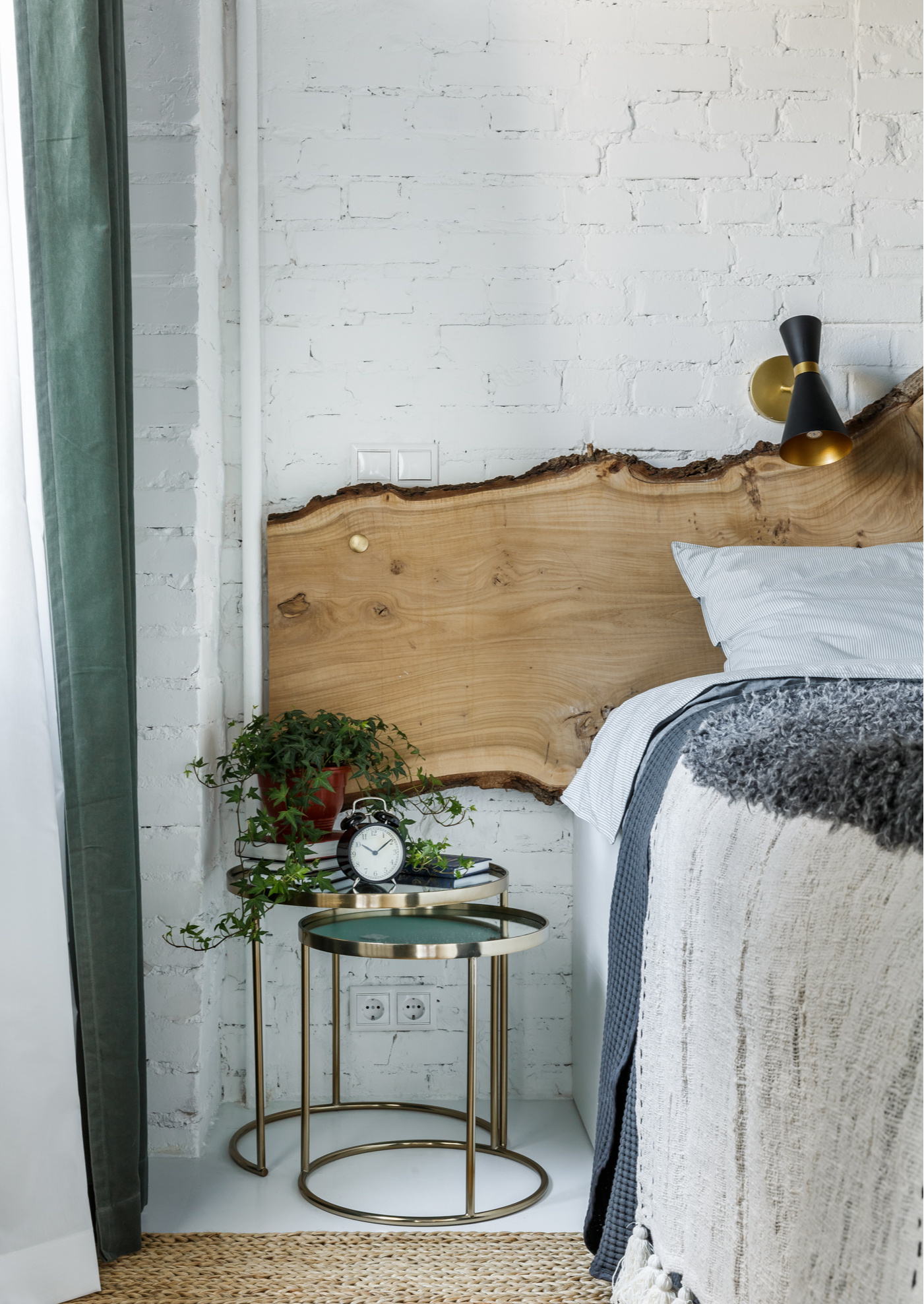 Кровати с необычными изголовьями: 30 примеров (галерея 0, фото 0)